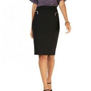 Michael Kors Zip pocket pencil skirt